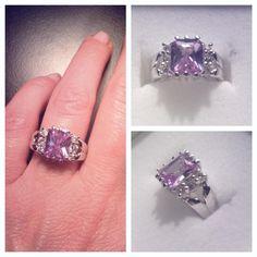 """Premier Designs """"Orchid"""" ring...Find me on Facebook at """"Premier-Lady Bling Slinger"""""""