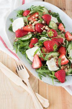 Otto Lenghi, Real Food Recipes, Healthy Recipes, Tapas, Comfort Food, Caprese Salad, Summer Recipes, Strawberry, Veggies