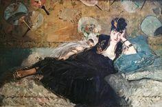 © Édouard Manet - Donna famosa, Nina de Callias (1832)