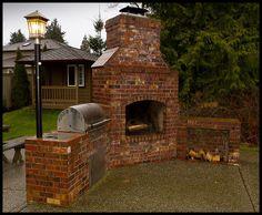 Brick BBQ Smoker   Backyard Brick Barbeques.