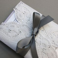 Laced Obsession Wedding Invitation Set by Shanon Medley by Shanon Medley Designs, via Flickr