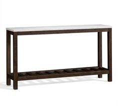 We currently have a console table in our foyer. It's a perfectly nice little console table. When it became a member of our home, it was pa...