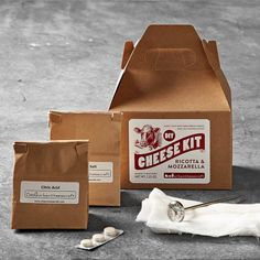 DIY Cheese-Making Kit, Mozzarella/Ricotta, $19.99 on Clearance (+ and extra 20% off with code SUMMERSALE)