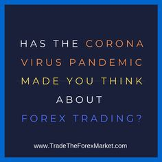 The Coronavirus Pandemic has made me very thankful I am an independent Forex trader. I'm not talking about the fact that I just had my first big winner of the year. Actually, I would much rather the Pandemic didn't exist. There are plenty of profits to make trading Forex without putting people's lives in danger.…