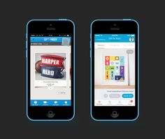 Not on the High Street iOS before and after by Ben Dunn