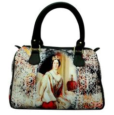 Queen of England  Digital Print Hand bag for only 1049/-