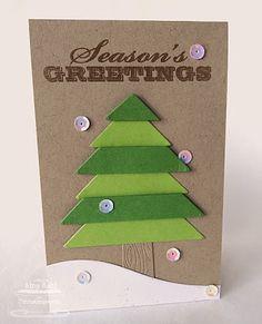 Seasonal Sentiments; Chalkboard Frame Builder Die-namics; Sheltering Tree Die-namics; Snowdrifts Die-namics - Amy Rohl