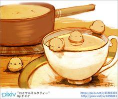 ちょっと贅沢なティータイム ●最近寒いので温かい飲み物続きです。 ●ポストカード展、参加中ですー。描き下ろしポストカードまだご用意してますのでどうぞ! http://ikokochi.net/pg56