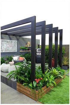 Backyard Garden Design, Small Backyard Landscaping, Small Garden Design, Backyard Patio, Balcony Garden, Rooftop Garden, Backyard Ideas, Landscaping Design, Indoor Garden