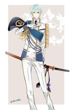 【刀剣乱舞】一期一振の衣装を白くしてみた【とある審神者】 : とうらぶ速報~刀剣乱舞まとめブログ~