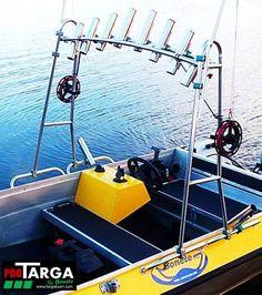 Fishing frame, Bonete PRO 150 for open boat / Nordic style