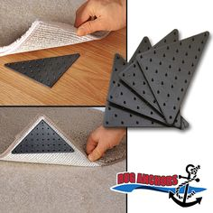 If You Are Tired Of Your Throw Rugs Slipping Or Curling Up At The Corners