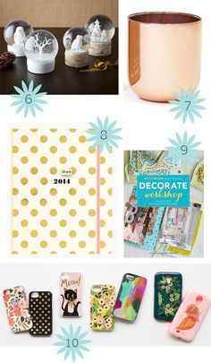decor8 gift guide - 20 lovely things under $50