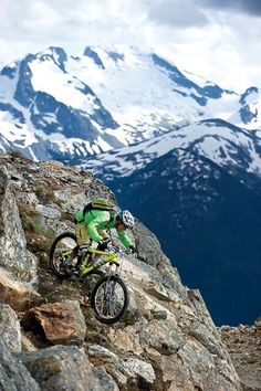 WHISTLER, BC - My dream mountain biking trip...someday!!  Oh and the part about the place to stay with pools and hot tubs overlooking the bike park def sounds like a nice perk!!:
