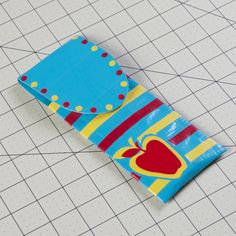 Duck Tape pen and pencil case