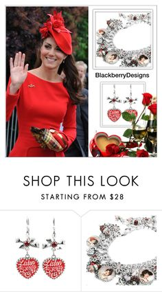 """""""Like a Princess (Blackberry Designs on Etsy #4)"""" by shambala-379 ❤ liked on Polyvore featuring Alexander McQueen"""