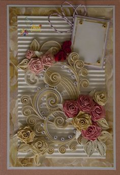 Quilling card 2