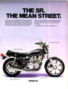 1979 Kawasaki Z650 SR