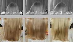 Using honey to lighten hair before and after
