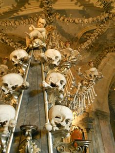 Bone Church/Kutna Hora near Prague, Czech Republic