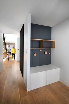 How To Incorporate Contemporary Style Kitchen Designs In Your Home Hallway Designs, House Design, House Inspiration, Light Wood Floors, House Interior, House, Interior, Mud Room Entry, New Homes