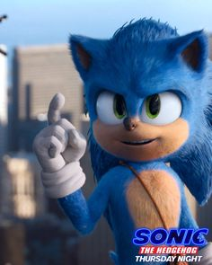 Sonic the Hedgehog - In theatres Thursday Night Let Sonic show you how it's done! Sonic the Hedgehog Sonic The Hedgehog, Hedgehog Movie, Shadow The Hedgehog, Sonic 3, Sonic And Amy, Sonic Funny, Sonic Fan Art, Sonic Fan Characters, Cartoon Characters
