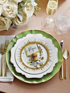"""""""Setting a beautiful table makes your guests feel welcome, and that's what Southern hospitality is really all about."""""""