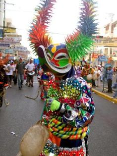 Máscara carnaval, República Dominicana - para el festival de Carnaval