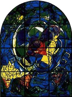 1000+ images about Glaskunst: Marc Chagall / Glass Art ... Chagall Hadassah Windows