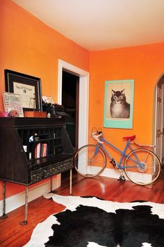1000 ideas about orange paint colors on pinterest - Interior orange paint colors ...
