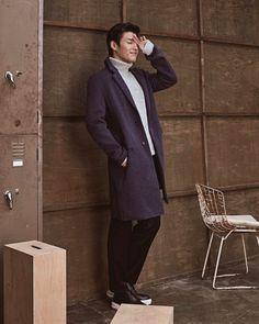 Kang Ha Neul for Vostro FW 2017 Bonus: Sources: naver , ( 1 & 2 )강하늘 Kang Haneul, Park Hyung Sik, See You, My Man, Korean Actors, I Dress, Kdrama, Actors & Actresses, Normcore
