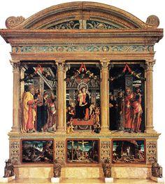 Andrea Mantegna - Polittico di San Zeno - 1457-1460 - Chiesa di San Zeno Maggiore, Verona