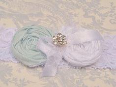 Bridal Garter Something blue