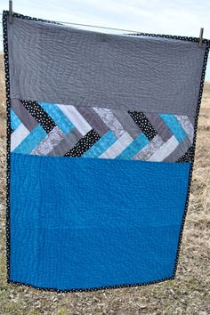 French Braid Quilt Baby Crib Quilt