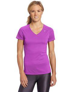 AmazonSmile: ASICS Women's Favorite Short Sleeve Top: Clothing