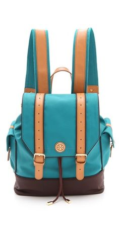 Tory Burch Dipped Canvas Backpack | SHOPBOP