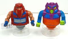 MOTU, Twistoid & Rotar Lot, Masters of the Universe, He-Man, figures, vintage #Mattel