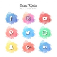 Advanced Social Media, 80 Best Free Graphics on Freepik Social Network Icons, Social Icons, Free Social Media Icons, Social Media Art, Social Media Buttons, Iphone Icon, Iphone App, Web Banner Design, Logo Instagram