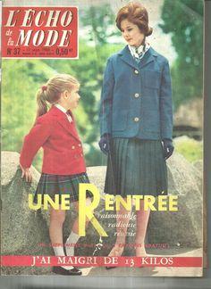 L'Echo DE LA Mode N°37 Denise Noel LE Vrai DON Quichotte Cervantes 1960 | eBay