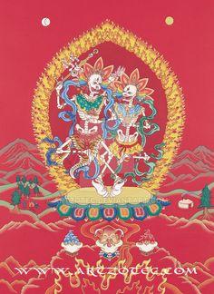 Kinkara - dancing skeletons by artzotec.deviantart.com on @DeviantArt