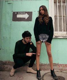 """BTS of """"Cristina"""" music video shoot // #tinistoessel #tini #sebastianyatra."""