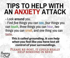 anxiety tips stop attacks