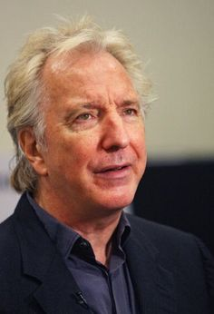 "Alan Rickman attend the ""Seminar"" on Broadway cast photocall at Foxwoods Theatre Rehearsal Hall on September 28, 2011 in New York City.  September 28, 2011/ Photo: Bennett Raglin"
