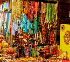 A bead store in Venice Italy