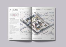 Architectural portfolio by Alexey Kotelnikov on Behance Architect Portfolio Design, Design Portfolio Layout, Architecture Portfolio Template, Page Layout Design, Book Layout, Portfolio Ideas, Architecture Diagrams, Japanese Architecture, Architecture Details
