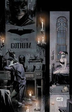 Batman's greatest antagonist Joker exposes a decades-long history of corruption within the GCPD and transforms into a civic hero of Gotham. Joker Comic, Joker Art, Batman Universe, Comics Universe, Comic Movies, Comic Books Art, Comic Sans, Joker Kunst, Batman Artwork