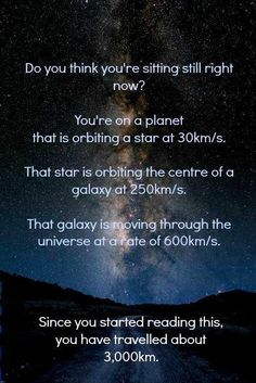 The awe factor of God and our Universe. Gotta get over ourselves and what we think we know and is for certain!