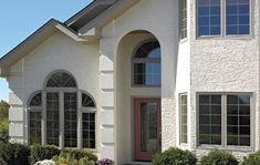 Residential General Contractor - Exterior Home Remodeling Exterior Remodel, Paving Stones, Home Remodeling, Concrete, Patio, Windows, Mansions, House Styles, Beautiful