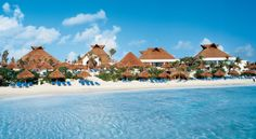 The beach at Luxury Bahia Principe Akumal is simply stunning