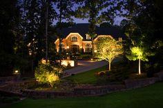 Landscape Lighting Landscape Lighting Design, Residential Lighting, Plant Lighting, Decks, Landscaping, David, The Incredibles, Mansions, Architecture